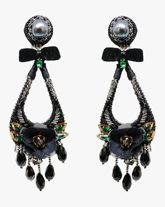 Lupe Clip-On Earrings
