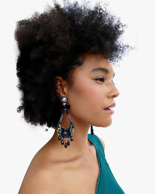 Ranjana Khan Lupe Clip-On Earrings 1