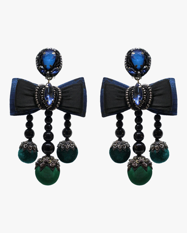 Ranjana Khan Lila Clip-On Earrings 0