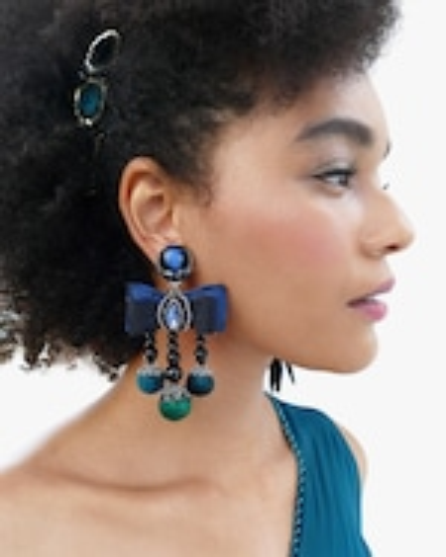 Ranjana Khan Lila Clip-On Earrings 1