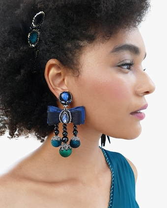 Lila Clip-On Earrings