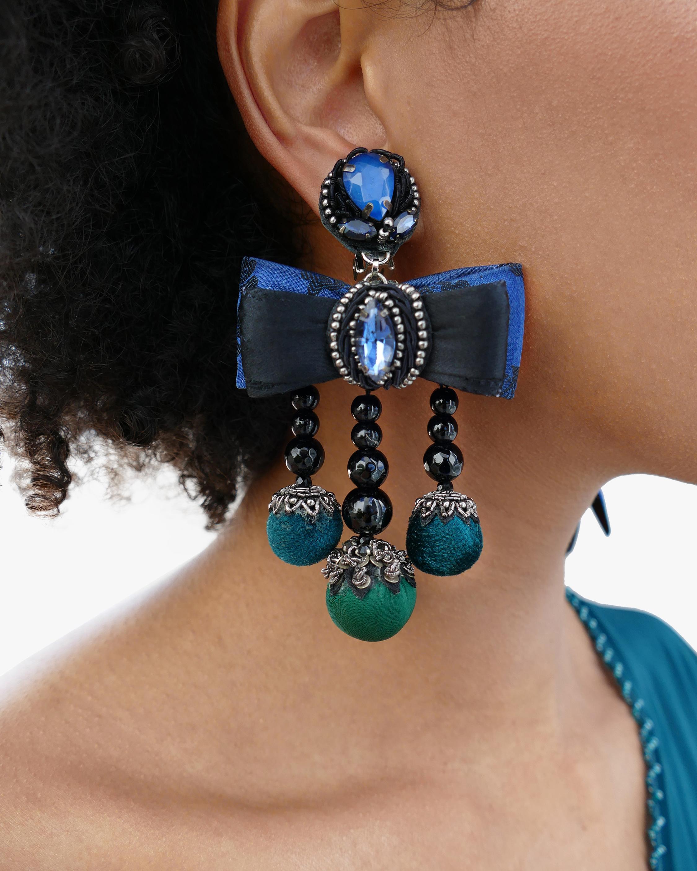 Ranjana Khan Lila Clip-On Earrings 2
