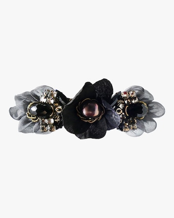 French Flower Hair Clip