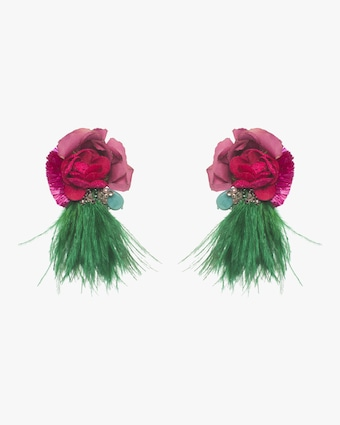 Tijuca Clip-On Earrings