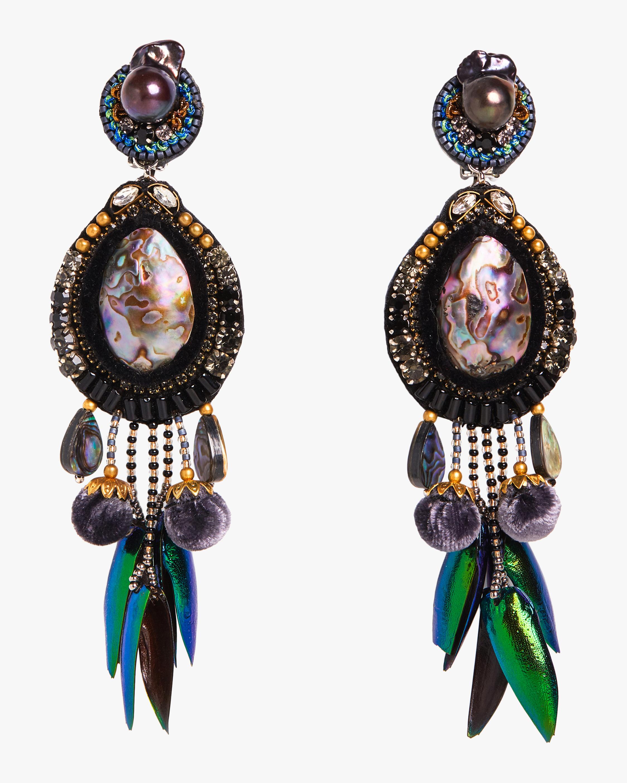 Ranjana Khan Stella Clip-On Earrings 0
