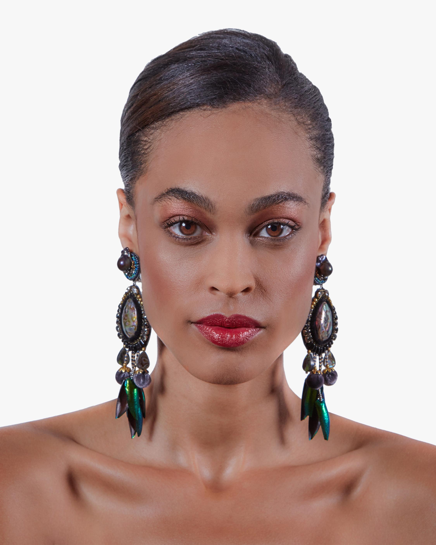 Ranjana Khan Stella Clip-On Earrings 1