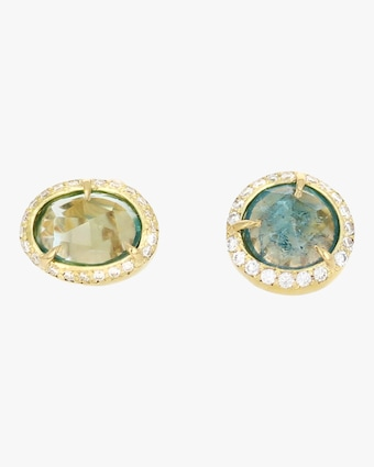 IO Collective Georgia Blue Tourmaline Studs 2
