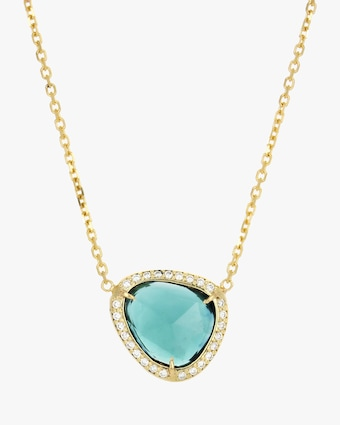 IO Collective Gisele Blue Tourmaline Necklace 2