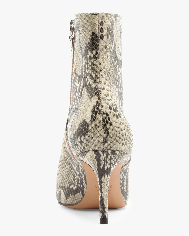 Schutz Bette Snake Embossed Ankle Boot 3