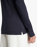 Adam Lippes Long-Sleeve Crewneck Shirt 4