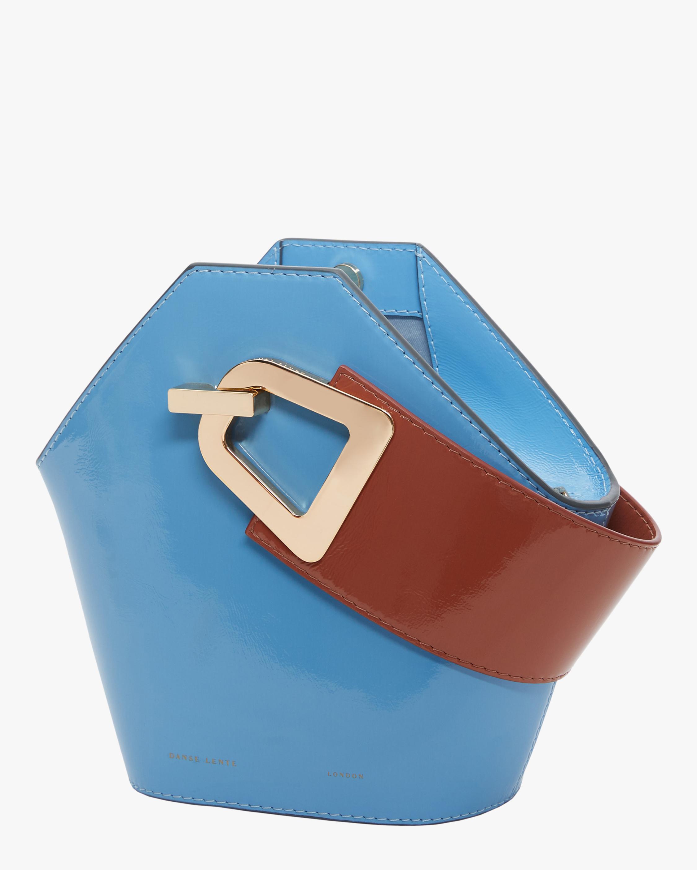 Danse Lente Patent Leather Mini Johnny Bag 1