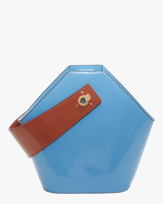 Danse Lente Patent Leather Mini Johnny Bag 3