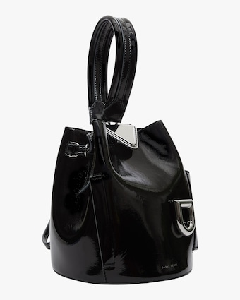Danse Lente Patent Leather Josh Bag 2