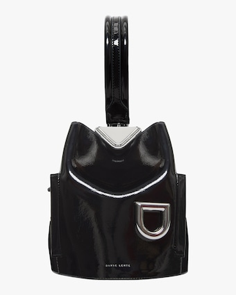 Danse Lente Patent Leather Josh Bag 1