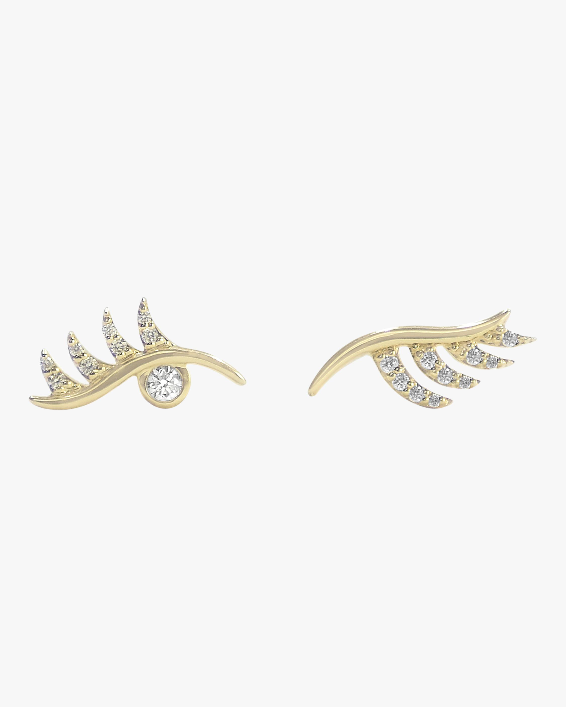 Bondeye Jewelry Lashes Earrings 1