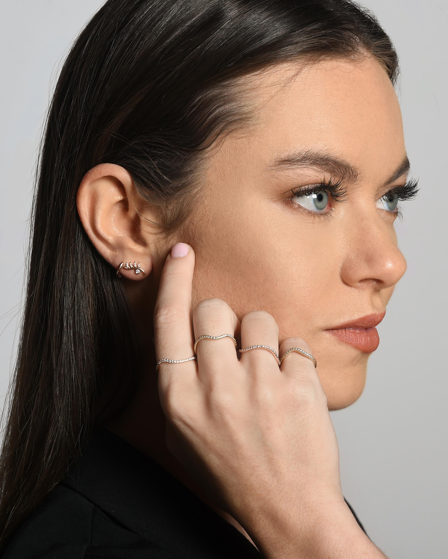 Bondeye Jewelry Lashes Earrings 2