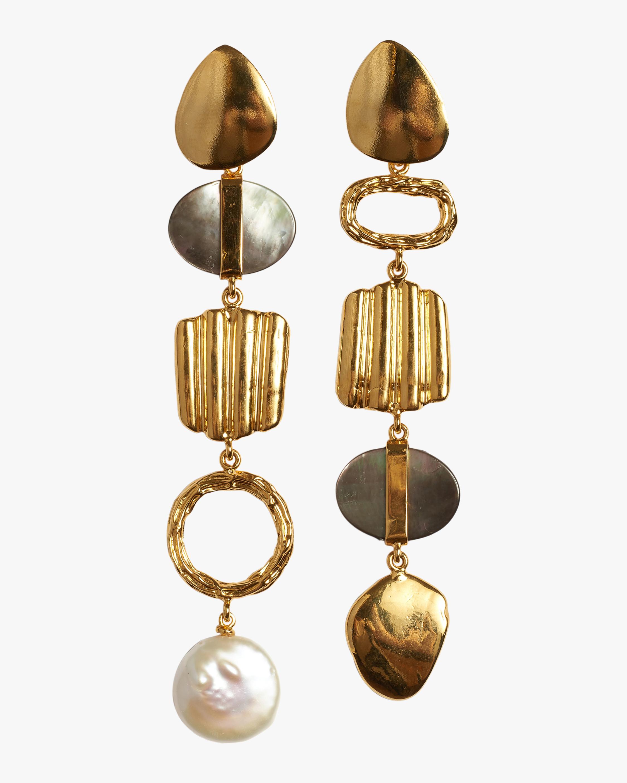 Lizzie Fortunato Treasure Hunt Earrings 0