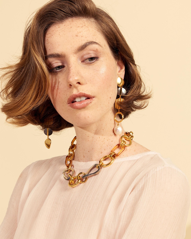 Lizzie Fortunato Treasure Hunt Earrings 1