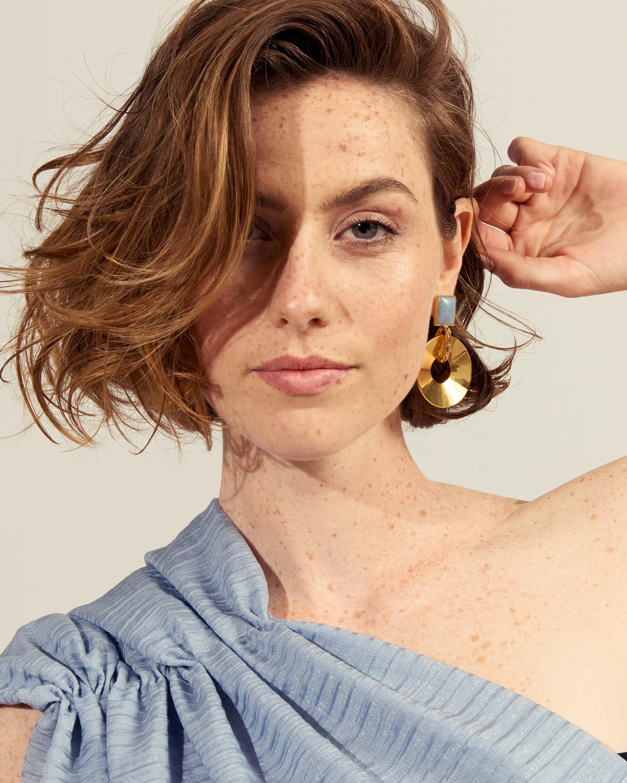 Lizzie Fortunato Promenade Hour Earrings 2