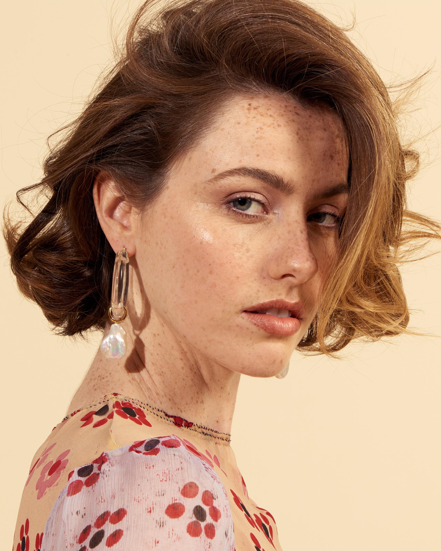 Lizzie Fortunato Frost Drop Earrings 2