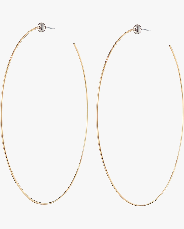 Jenny Bird Medium Icon Hoop Earrings 0