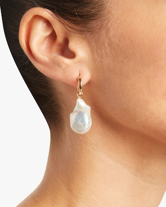 NST Studio Baroque Pearl Hoops 2