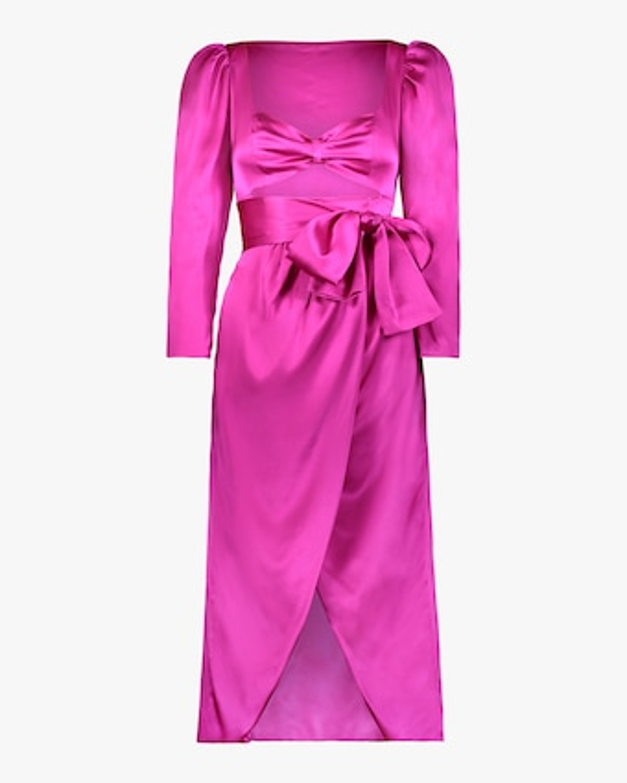 Tiffany Satin Dress