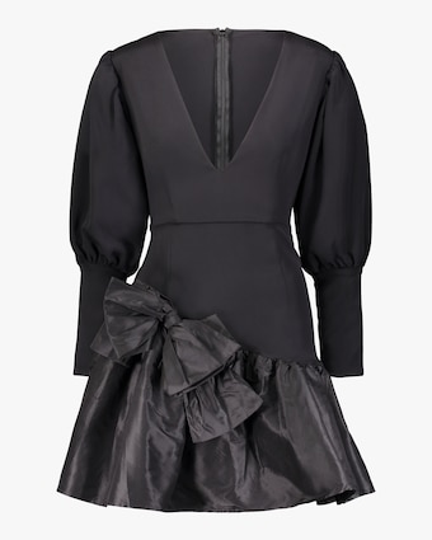 Nicole V-Neck Mini Dress