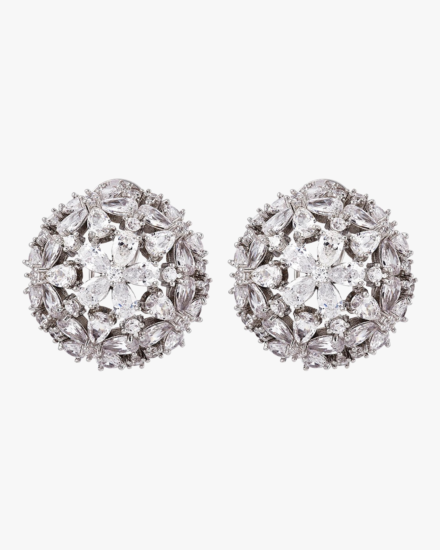 Monarch Florette Button Earrings