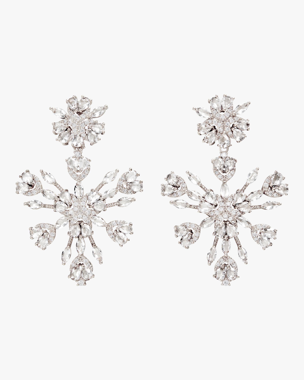 Snowflake Chandelier Earrings