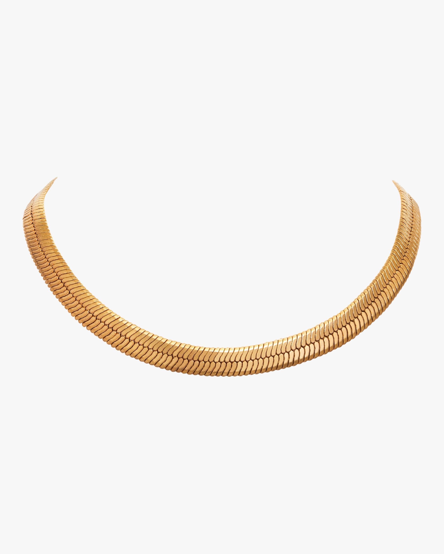Wide Herringbone Collar
