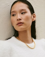 Aureum Collective Chloe French Rope Chain Necklace 2