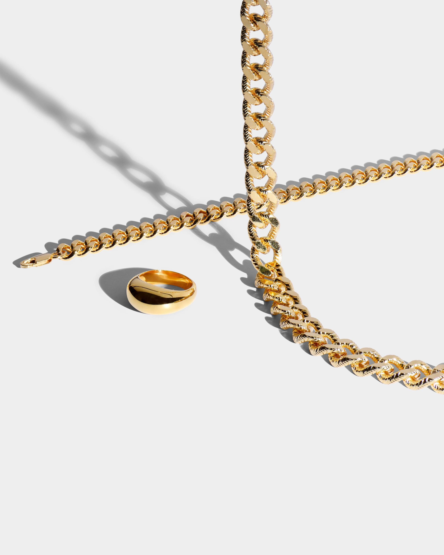 Aureum Collective Mia Curb Chain Necklace 1