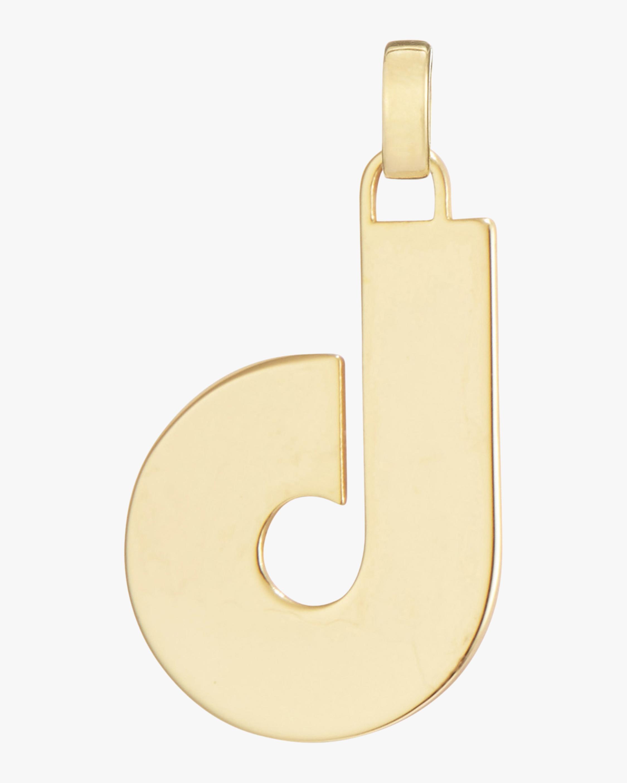 Jenny Bird Modernist Monogram Pendant Necklace 2