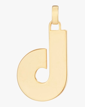 Jenny Bird Modernist Monogram Pendant Necklace 2