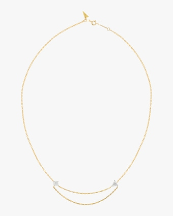 Swati Dhanak Floating Chain Necklace 2