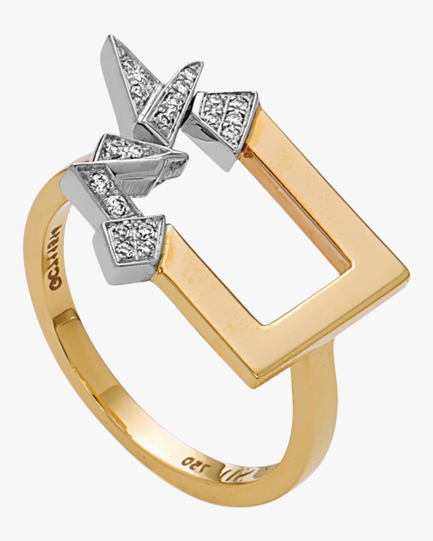 Swati Dhanak Mini Broken Shards Ring 0