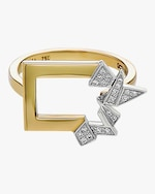Swati Dhanak Mini Broken Shards Ring 1