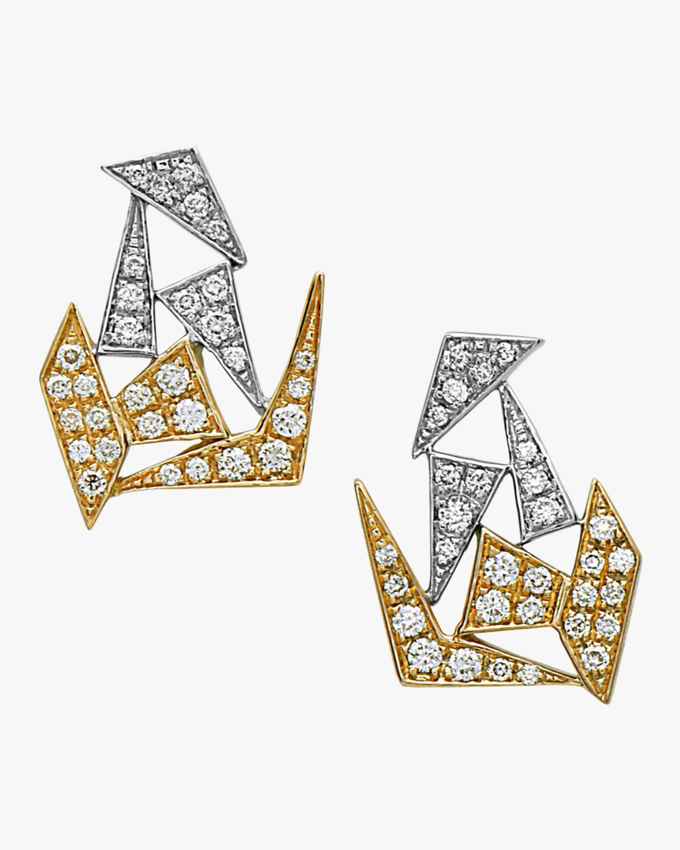 Swati Dhanak Short Mixed Shards Earrings 1