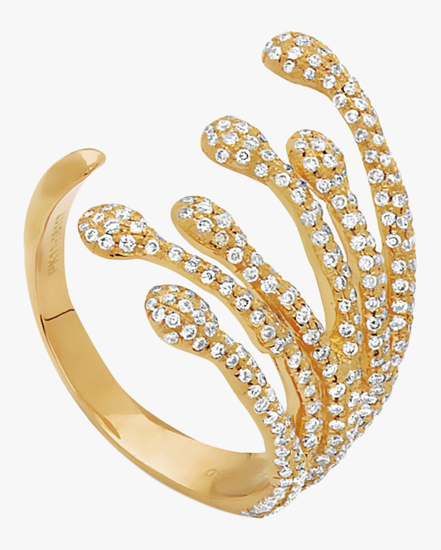 Swati Dhanak Six Drops Splatter Ring 2