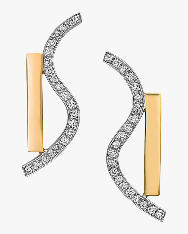 Swati Dhanak Wave Movement Earrings 1