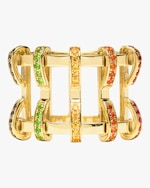 Swati Dhanak Rainbow Five Pin Cage Ring 0