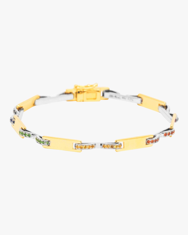 Swati Dhanak Stapled Plate Bracelet 2
