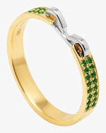 Swati Dhanak Stapled Slim Ring 0