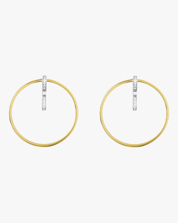 Swati Dhanak Staple Loop Earrings 1