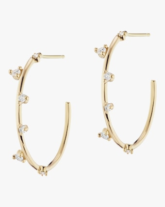 Sophie Ratner Small Scatter Hoop Earrings 1