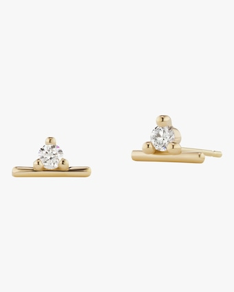 Sophie Ratner Broken Line Stud Earrings 1
