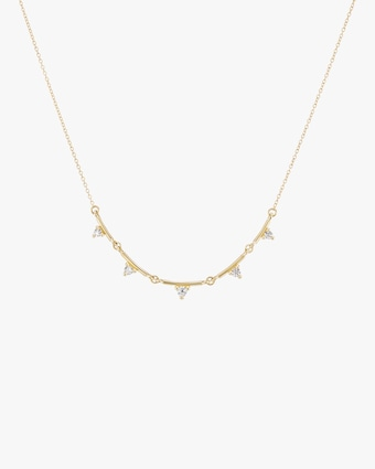 Broken Line Necklace