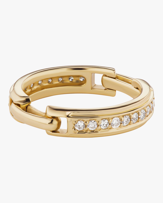 Sophie Ratner Diamond Double Hinge Ring 0