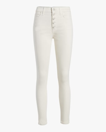 The Charlie Button-Fly Ankle Jeans